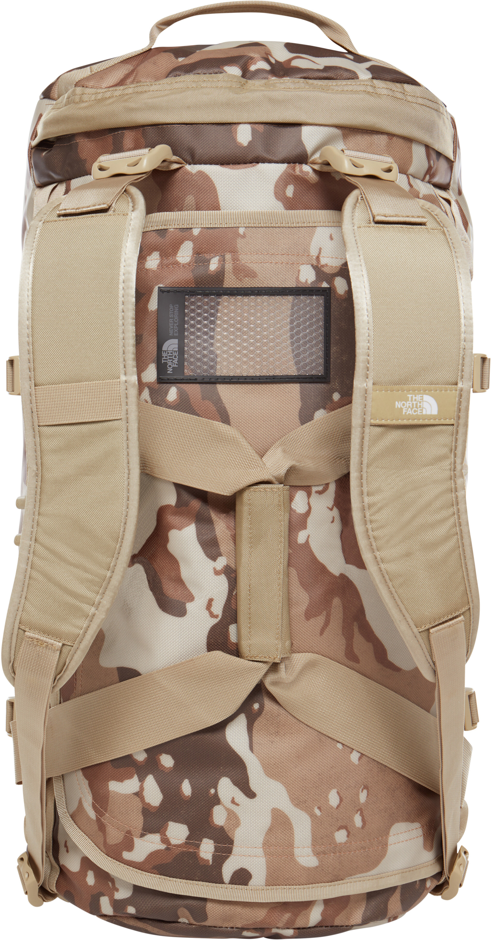 The North Face Base Camp Valigie M beige marrone su Addnature d6d8aaa1022b